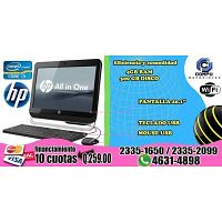 COMPUTADORAS HP, ALL ONLI ONE, A TAN SOLO Q 2,590.00