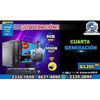 COMPUTADORAS HP DE 4ta. GENERACION, PROCESADOR COREi5