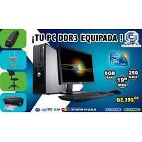 COMPUTADORAS DELL +MUEBLE+SILLA+REGULADOR+IMPRESORA, A Q 2,390.00