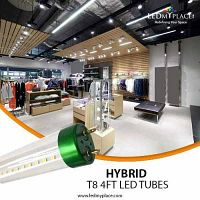 Use Hybrid T8 4ft LED Tube To Save On Your Energy Bills