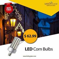 Install Smallest yet Brightest 60W LED Corn Bulbs to Lighten the Exteriors