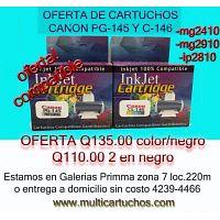 cartuchos canon pg-44 y cl-44 compatibles