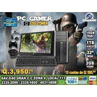LINEA GAMERS DE COMPUTADORAS COREi5