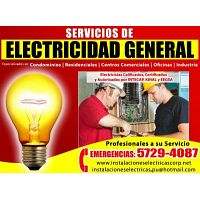 Electricistas Autorizados Whatsapp 57294087 - 59923244 - 44453865