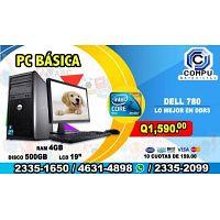 COMPUTADORAS HP CON MONITOR DE 22 PULGADAS, CON ENVIÓ GRATIS, A TAN SOLO Q 1,790.00