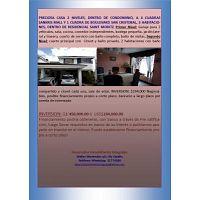 CASA C/FACILIDADES DE PAGO SAN CRISTOBAL Z.8 MIXCO 2 NIVELES 3 DORMITORIOS GARITA, AREA SANKRIS MALL