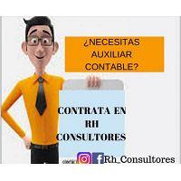 Auxiliares de contabilidad, solo en Rh Consultores